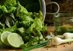 Роль зелени в здоровом питании